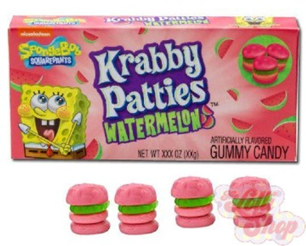 Spongebob Krabby Patties Watermelon 72g