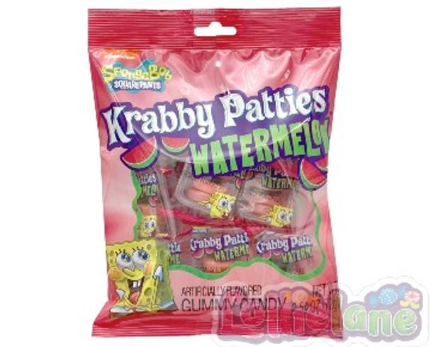 Spongebob Krabby Patties Watermelon Pouch 72g