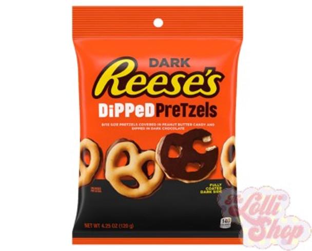 Reese's Dark Dipped Pretzels 120g