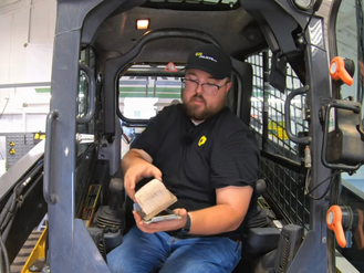 How to Install an In-Cab Air Filters on John Deere 333G Skid Steers