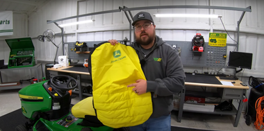 A How-To & Review of the John Deere Mower Seat Covers