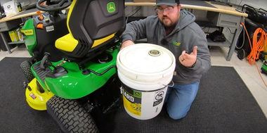 How to Install a John Deere Bucket Holder