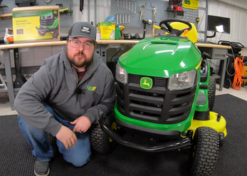 How to Install a John Deere Mower Bumper Guard for Lawn Tractors