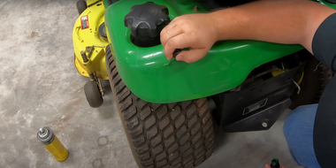 How to Use a John Deere Touch-Up Paint Pen to Restore John Deere Mowers & Gators