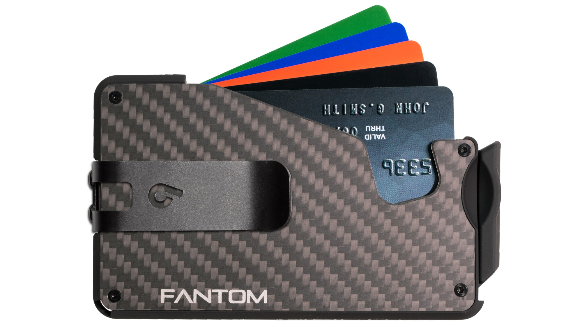 Fantom 10 Carbon Fiber Regular Version with Black Money Clip