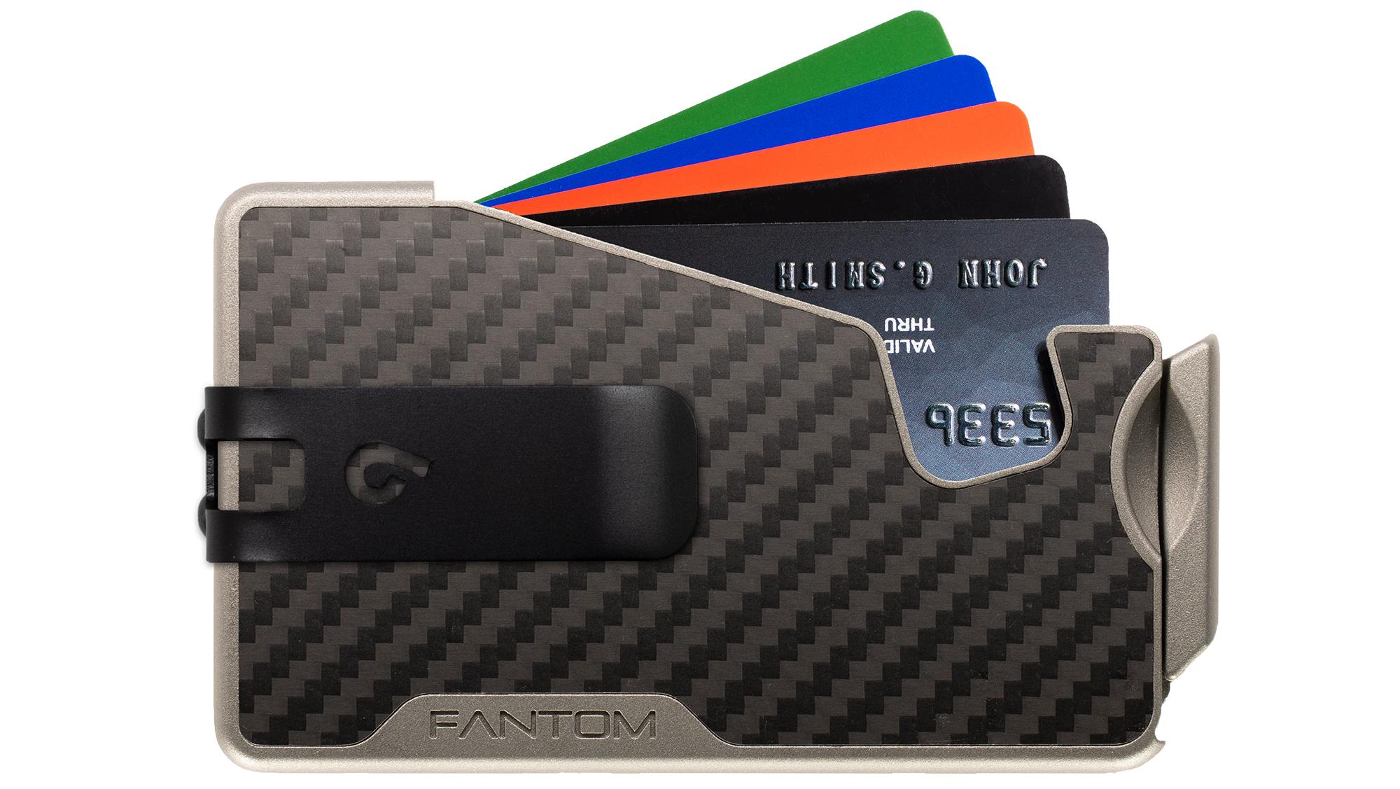 Fantom R 10 Carbon Fiber with Black Money Clip