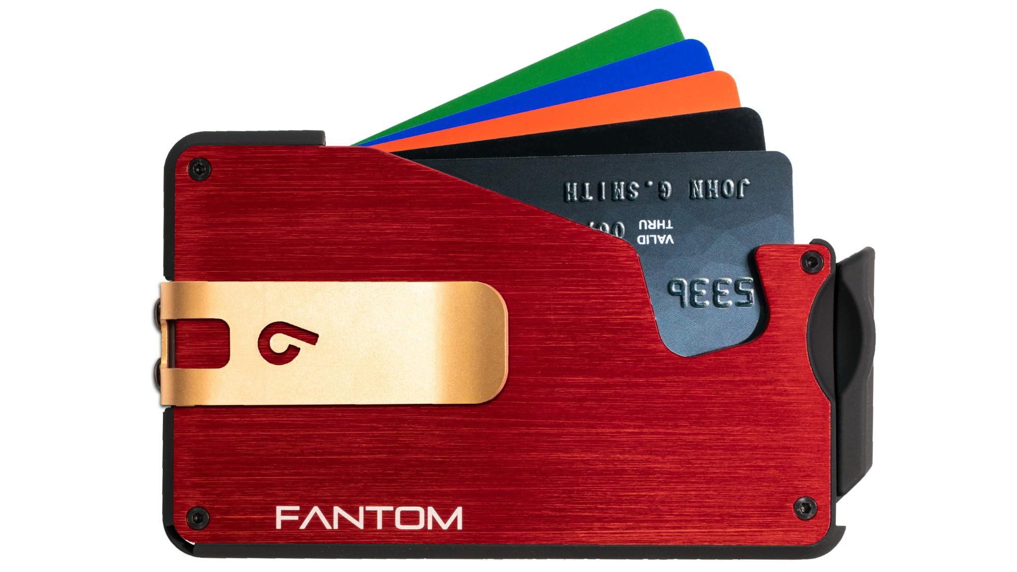 Fantom 10 Red Regular Version with Gold Money Clip