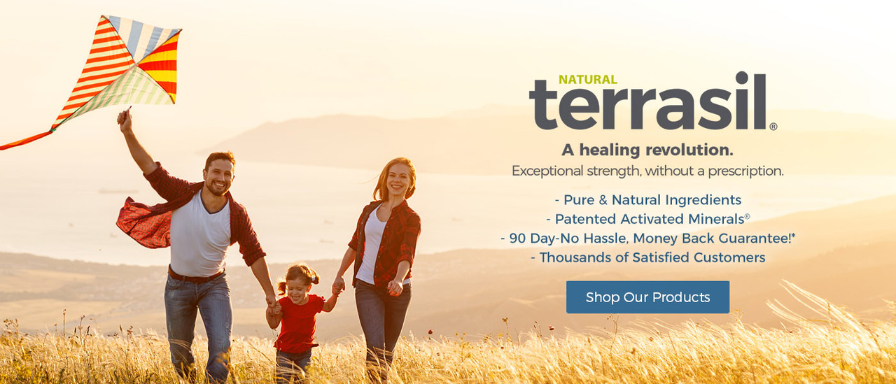 natural terrasil A healing revolution