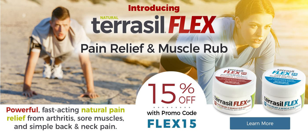 save 15% on FLEX with code FLEX15