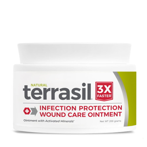 terrasil Infection-Protection Wound Care Ointment, 200 gram jar