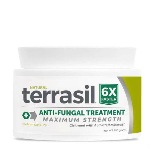 terrasil Anti-Fungal Treatment MAX strength ointment, 200 gram jar