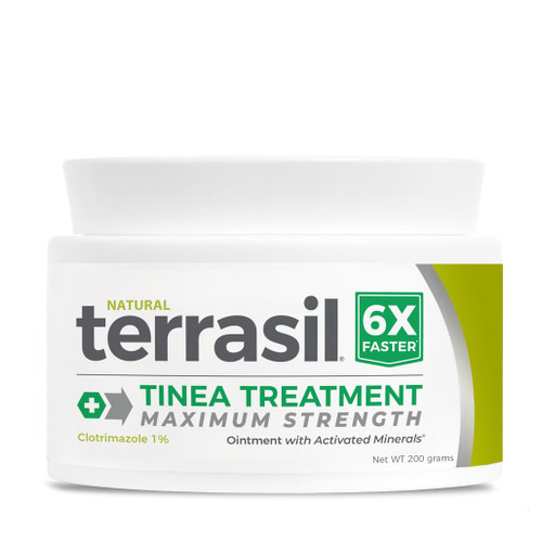 terrasil Tinea Treatment MAX ointment, 200 gram jar