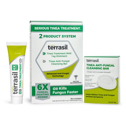 terrasil Serious Tinea Treatment 2-Product System