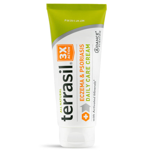 terrasil Eczema and Psoriasis Daily Care Cream, 85 gram tube