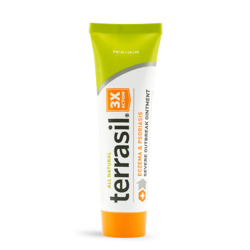 terrasil Eczema and Psoriasis Severe Outbreak Ointment, 28 gram tube