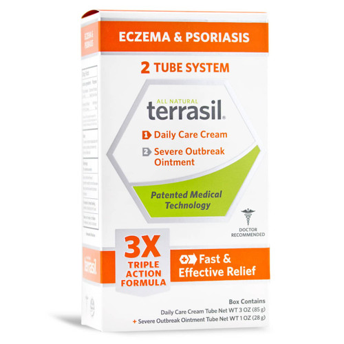 terrasil Eczema and Psoriasis, packaging front