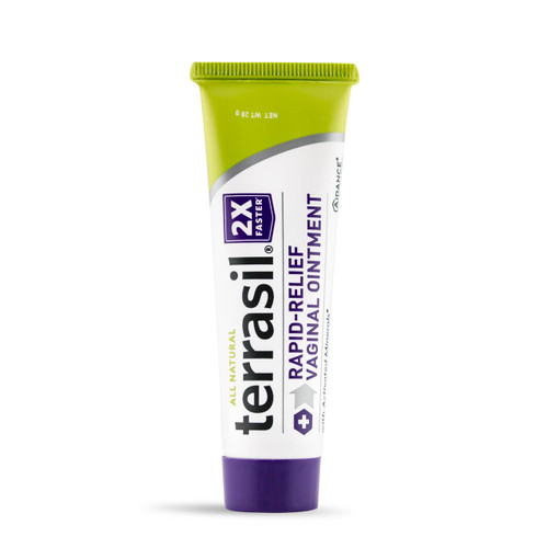 terrasil Rapid-Relief Vaginal Ointment, 28 gram tube