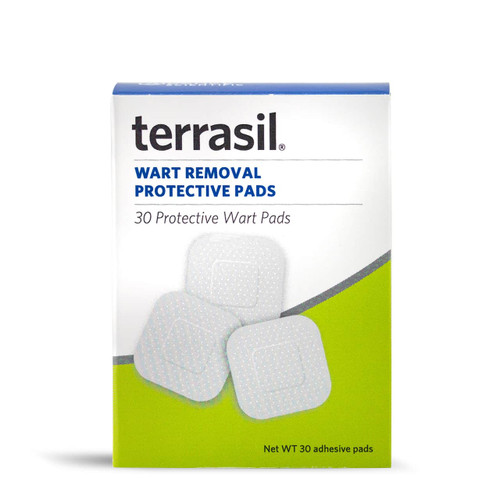 terrasil Wart Removal protective pads, 30 ct box