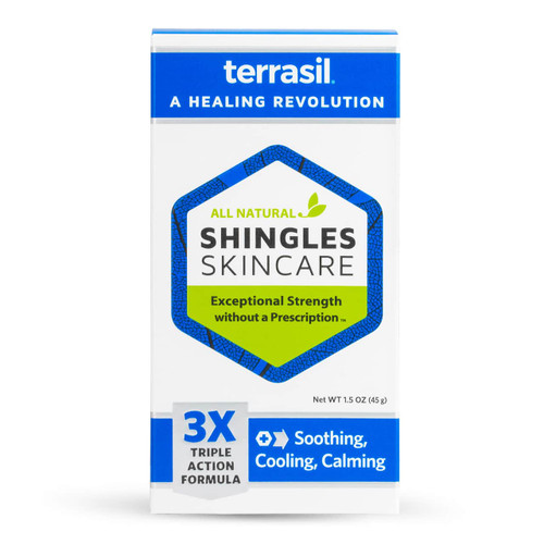 terrasil Shingles Skincare Ointment, packaging front