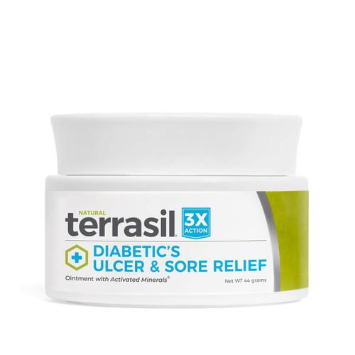 terrasil Diabetic's Ulcer and Sore Relief, 44 gram jar