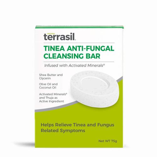 terrasil Tinea Anti-Fungal Cleansing Bar, Soap - 75 grams