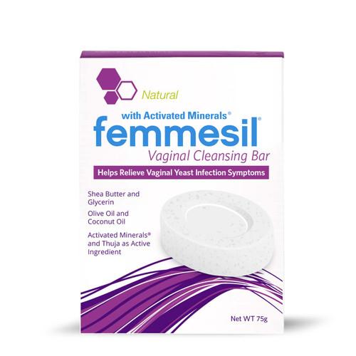 femmesil Vaginal Cleansing Bar, 75g soap