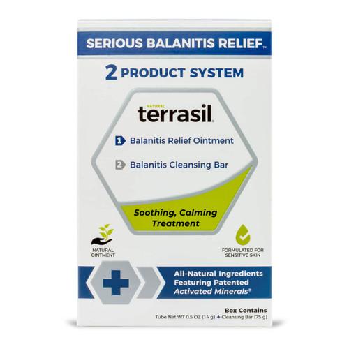 terrasil Serious Balanitis Relief kit - box front