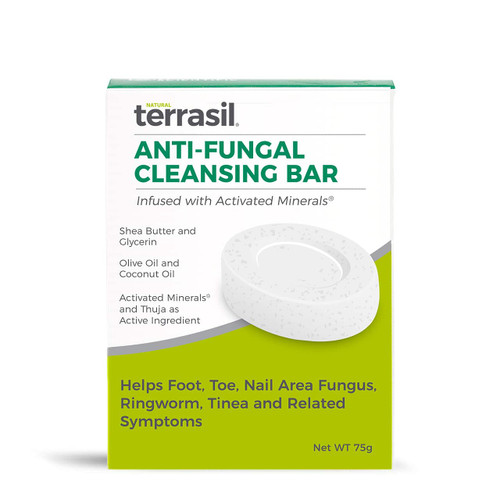 terrasil Anti-Fungal Cleansing Bar, 75 gram soap