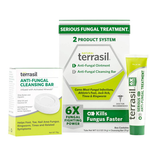 terrasil Serious Fungal Treatment, 2-Product kit