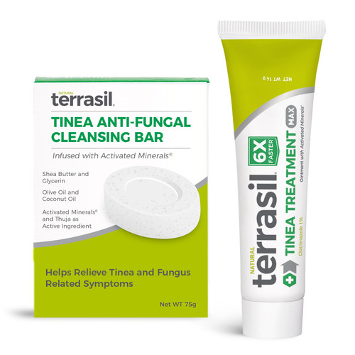 terrasiil Serious Tinea Treatment, unboxed