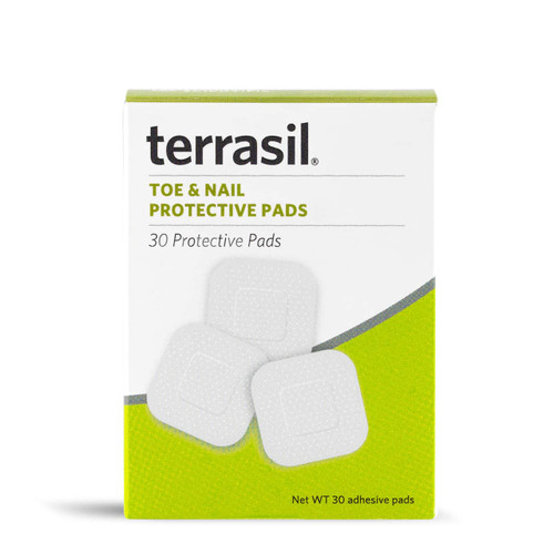 terrasil Foot and Nail protective pads, 30 ct box