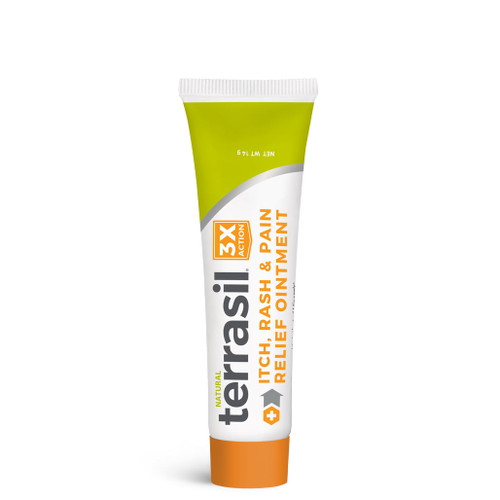 terrasil Itch Rash and Pain Relief Ointment, 14 gram tube
