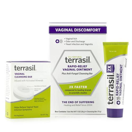 terrasil Vaginal Discomfort Kit