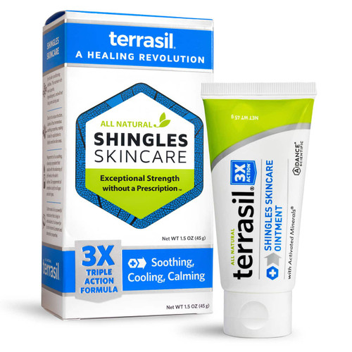 terrasil Shingles Skincare Ointment, 45 gram tube