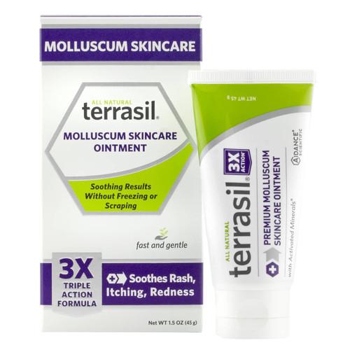 terrasil Molluscum Skincare Ointment