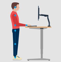 Office Furniture That Benefits You Standing Desks Uplift Desk