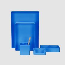 Blue Organizer Set
