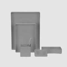 Gray Organizer Set