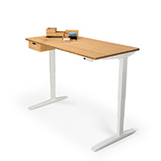 free Bamboo Drawer if you buy a 2- or 3-leg desk