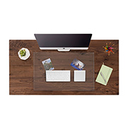 save 20% on the Glass Desk Blotter