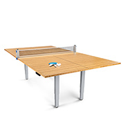 get $150 off the Bamboo Ping Pong Table