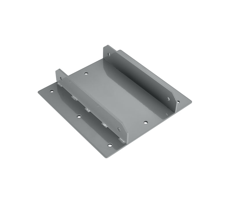 Gray Zero Crossbar Bracket by UPLIFT Desk