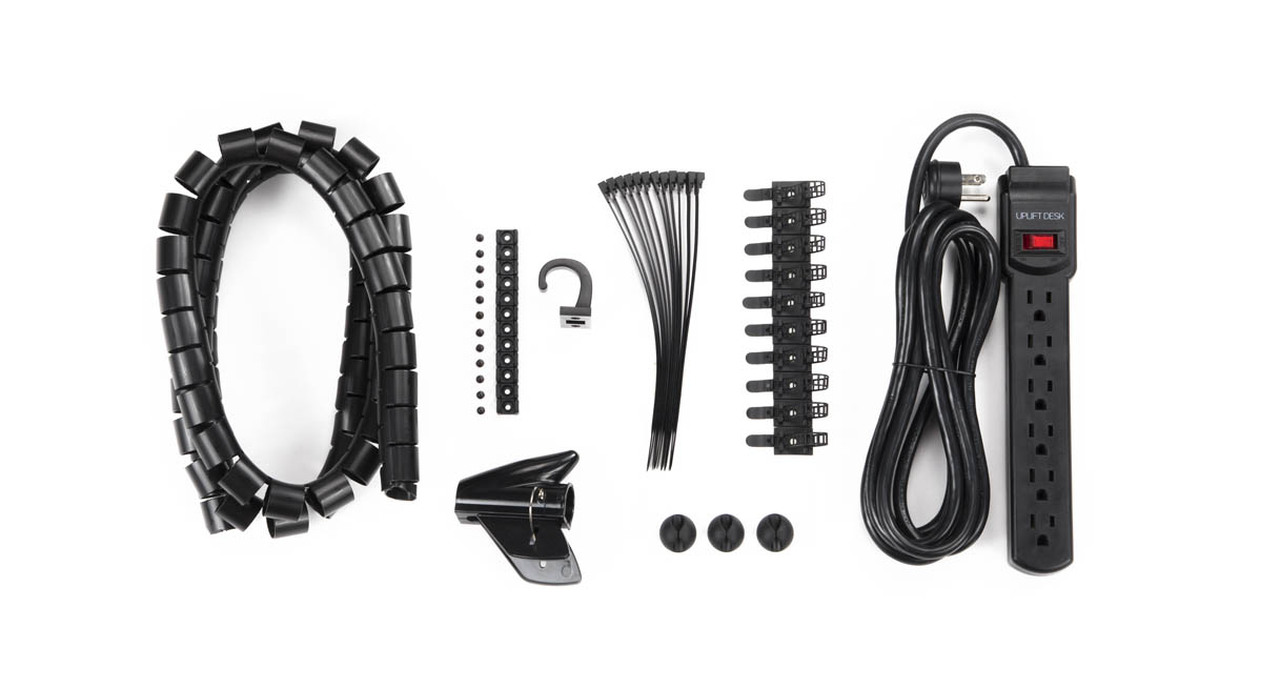 Basic Wire Management Kit by UPLIFT Desk