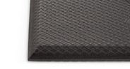 Stand comfortably (and for longer periods of time). The mat features beveled edges