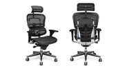 The all-mesh, back, seat and headrest keep you cool while offering responsive support