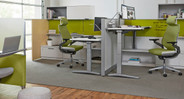 Collaborative spaces deserve seating that fosters and doesn't hinder ideas