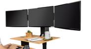 E7 Electric Standing Desk Converter by UPLIFT Desk