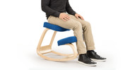 Tired of kneeling? Take a seat! The Ergonomic Kneeling Chair doubles as a more standard stool.