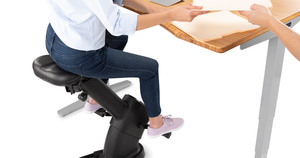 Get Moving with the E3 Under Desk Exercise Bike