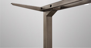 """""""What a Distinguished Desk!"""" and Other Things Heard Spoken About Our New Metallic Desk Frames"""